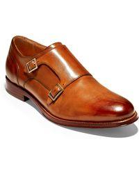 e6ac740a09f Cole Haan - American Classics Gramercy Double Strap Monk Shoe - Lyst