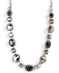 Sorrelli - Embellished Elegance Crystal Necklace - Lyst