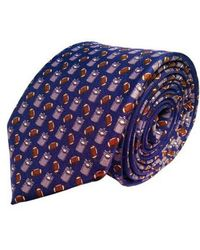 Lazyjack Press - Tailgating Silk Tie - Lyst