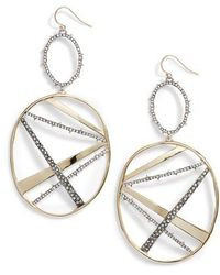 Alexis Bittar - Oversize Dangling Hoop Earrings - Lyst