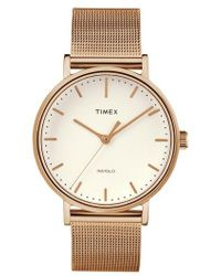Timex - Timex Fairfield Mesh Strap Watch - Lyst