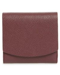Nordstrom - Olivia Leather Trifold Wallet - - Lyst