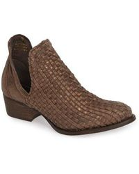 Very Volatile - Bayview Woven Bootie - Lyst