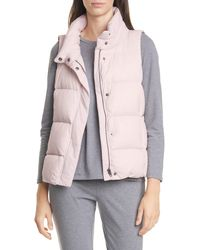 Eileen Fisher Down Puffer Vest - Multicolour
