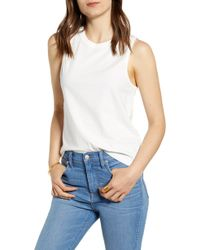 Madewell Northside Vintage Muscle Tank - White