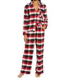 Nordstrom Flannel Pajamas - Red