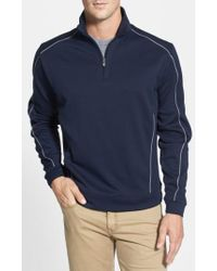 Cutter & Buck | Drytec Half Zip Pullover | Lyst