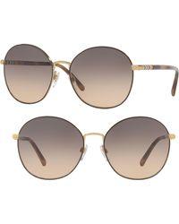 793c9c1c2a Lyst - Burberry Eyeglasses Be 1298 1145 Light Gold in Metallic