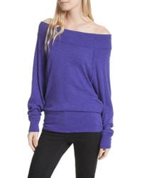 Free People - Palisades Off The Shoulder Top - Lyst