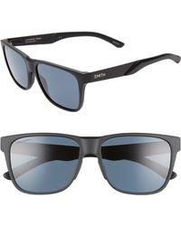 Smith Lowdown Steel 56mm Chromapoptm Polarized Sunglasses - Black