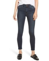 Articles of Society - Heather High Waist Ankle Skinny Jeans - Lyst