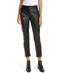 Nili Lotan - Montauk Leather Pants - Lyst