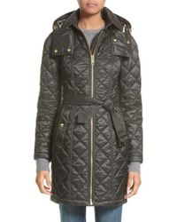 Burberry - Baughton Quilted Coat - Lyst
