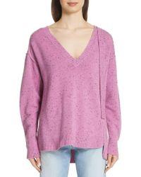 Marc Jacobs - Cashmere Sash Detail Sweater - Lyst