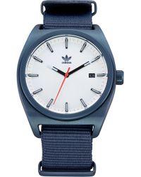 adidas - Process Nylon Strap Watch - Lyst