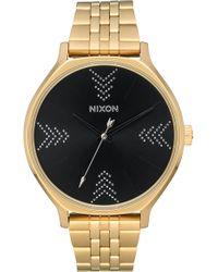 Nixon The Clique Bracelet Watch - Metallic