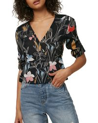 O'neill Sportswear Rachael Floral Print Top - Multicolor