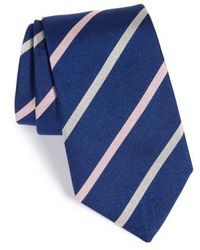 Gitman Brothers Vintage   Stripe Silk Tie   Lyst