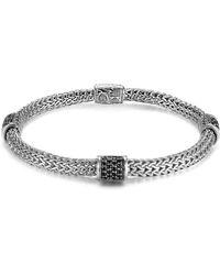 John Hardy - 'classic Chain - Lava' Extra Small Braided Bracelet - Lyst