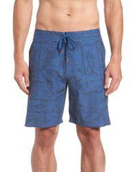 Cova - It's O-fish-al Board Shorts - Lyst
