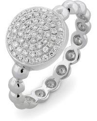 Bony Levy - Aurora Diamond Pavé Circle Ring (nordstrom Exclusive) - Lyst