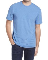 Travis Mathew Potholder Crewneck T-shirt - Blue