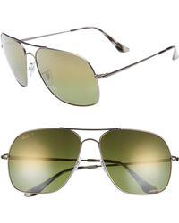 e998467985 Ray-Ban - Chromance 61mm Double Bridge Aviator Sunglasses - - Lyst