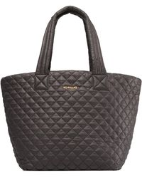 MZ Wallace - Medium Metro Quilted Nylon Tote - Lyst