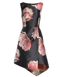 Ted Baker - Eyvii Bay Of Honour Asymmetrical Dress - Lyst