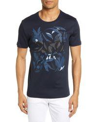 BOSS - Tessler Slim Fit Graphic T-shirt - Lyst