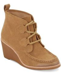 G.H.BASS - Rosa Wedge Bootie - Lyst