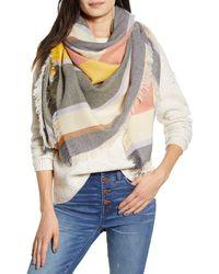 Madewell Stripe Blanket Scarf - Multicolor