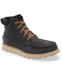 Sorel Madson Ii Moc Toe Waterproof Boot - Brown
