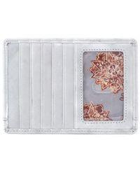 Hobo | 'euro Slide' Credit Card & Passport Case - Metallic | Lyst
