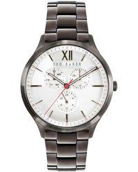 Ted Baker Manhatt Multifunction Bracelet Watch - Metallic