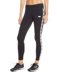 New Balance Athletics Logo Ankle Leggings - Black