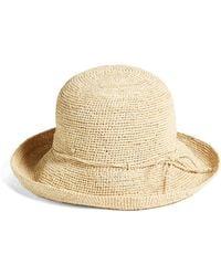 7e22269a2 Helen Kaminski Villa 6 Raffia Sun Hat in Natural - Lyst