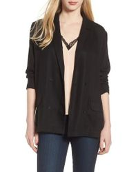 Trouvé | Drapey Double Breasted Blazer | Lyst