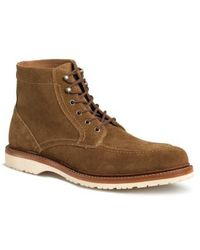 Trask | 'andrew Mid' Apron Toe Boot | Lyst