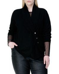 UNIVERSAL STANDARD - Curved Merino Wool Cardigan - Lyst