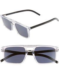 Dior Black Tie 54mm Sunglasses - Crystal