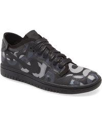 Comme des Garçons Comme Des Garçons X Nike Dunk Low Transparent Sneaker - Black