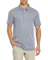 Linksoul Three-button Performance Polo - Blue