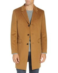 Ted Baker - Swish Wool & Cashmere Overcoat - Lyst