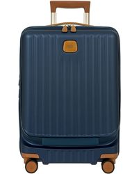 Bric's Capri 2.0 21-inch Expandable Rolling Carry-on - Blue