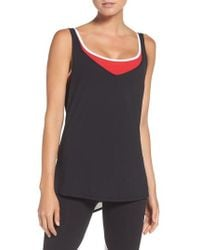 BoomBoom Athletica - 2-in-1 Tank - Lyst