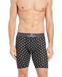 Tommy John - Second Skin Snowy Forest Boxer Briefs - Lyst