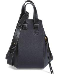 Loewe - Small Hammock Pebbled Leather Hobo - - Lyst