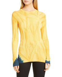 Proenza Schouler Tie Dye Sweater - Orange