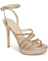 Pelle Moda - Oak Platform Sandal - Lyst